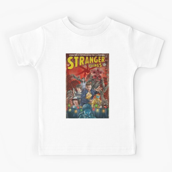 Stranger things comic Kids T-Shirt