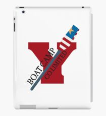 Canoe Crew Canoeing Sports Emblem iPad Case/Skin