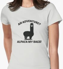 Alpaca My Bags Women's Fitted T-Shirt