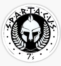 logo de Spartacus Sticker