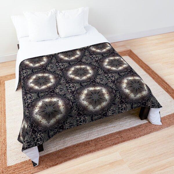 Bizarre Spidery Web Comforter