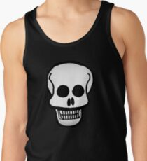 Basic Skull Pattern Design Tank Top