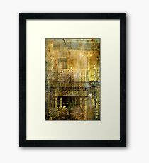 """The Balcony ..."" Framed Print"