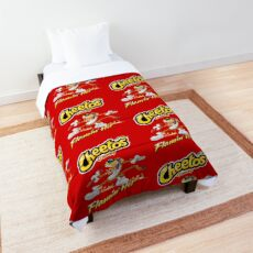 Cheetos Crunchy Flamin Hot Comforter