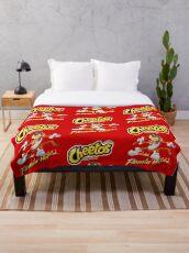 Cheetos Crunchy Flamin Hot Throw Blanket