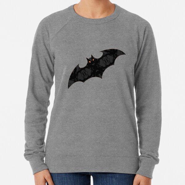 Bat Love On Orange Lightweight Sweatshirt