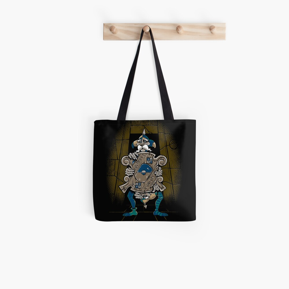 One of Us Always Lies - Labyrinth Door - Goblin - 80's Fantasy Tote Bag