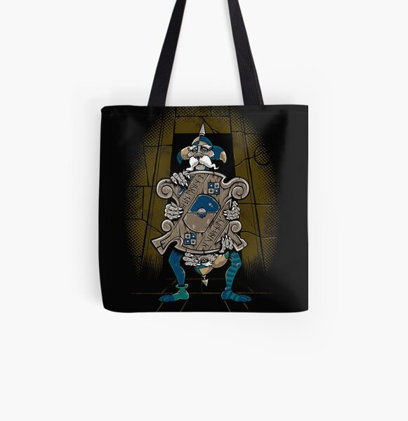 One of Us Always Lies - Labyrinth Door - Goblin - 80's Fantasy All Over Print Tote Bag
