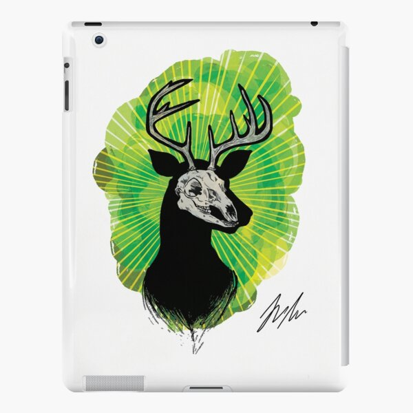 Stag Skull iPad Snap Case
