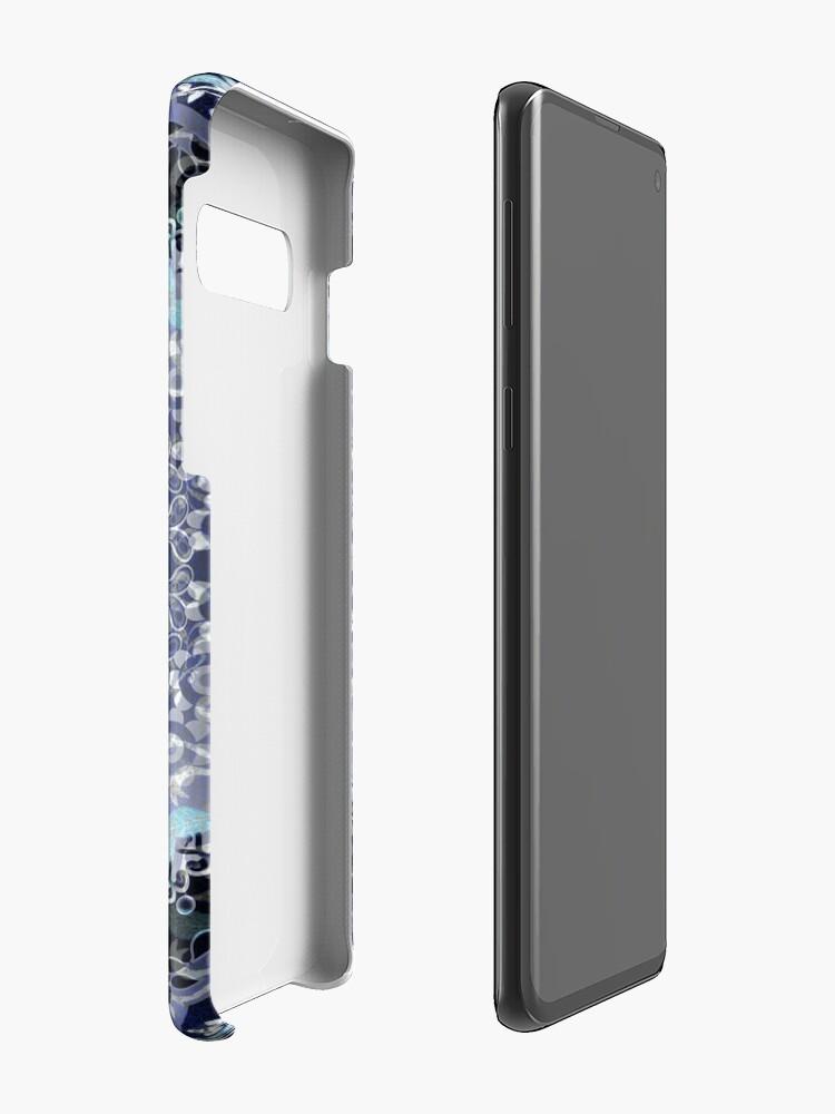 Alternate view of Vine Leaf Boho Mandala Case & Skin for Samsung Galaxy