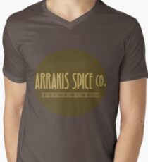 Dune - Arrakis Spice co. (version 2) Men's V-Neck T-Shirt