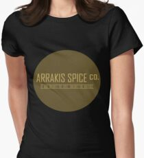 Dune Arrakis Spice Co. Women's Fitted T-Shirt