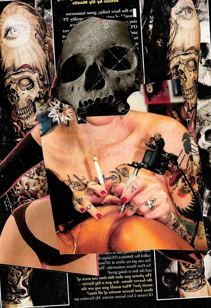 tattooing collage by jonnyriot