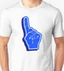 blue Fanfinger Unisex T-Shirt