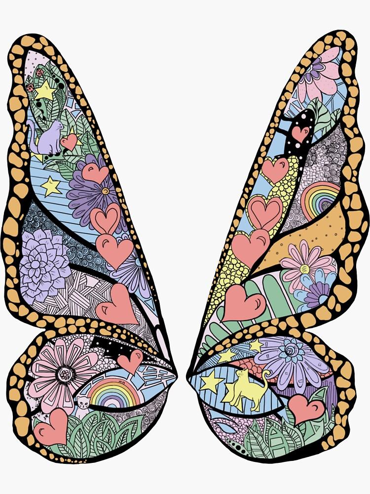 Lover butterfly by Molski