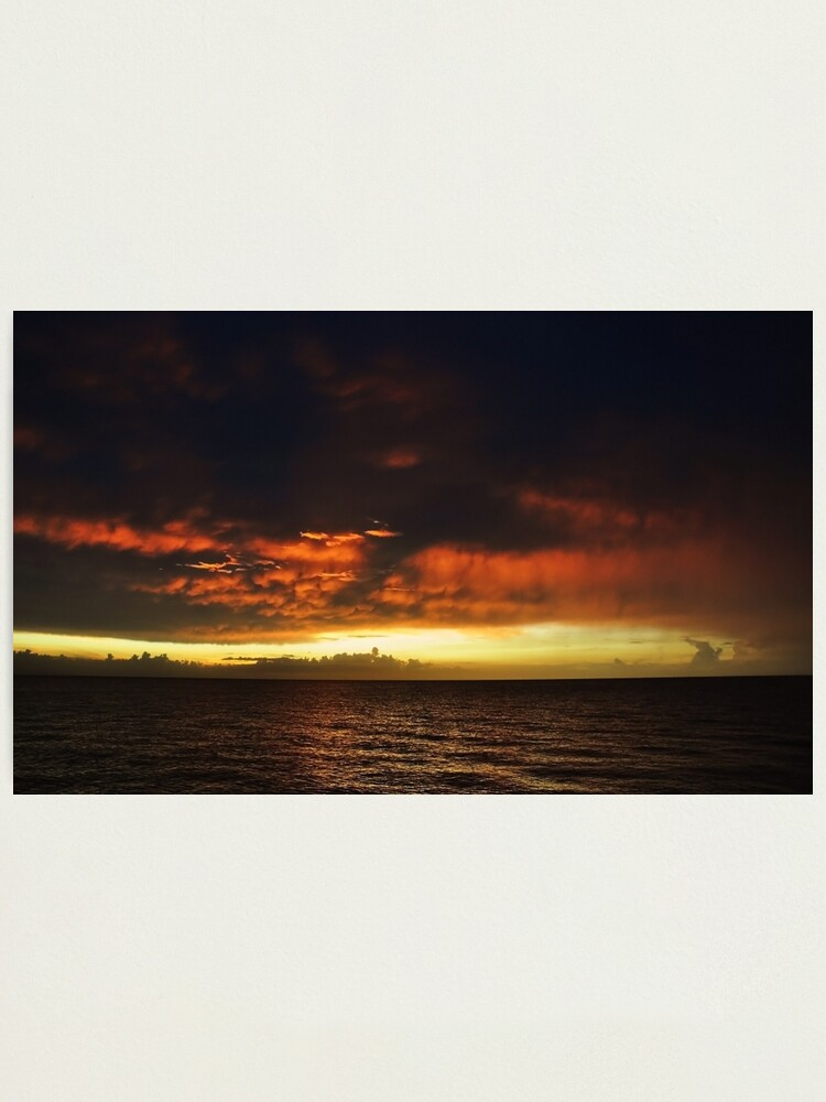 Alternate view of FIERY. (Montego Bay, Jamaica) Photographic Print