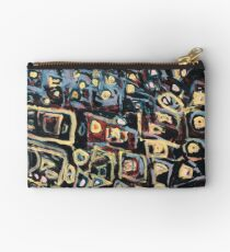 Abstract Shapes by Linda M. Zipper Pouch