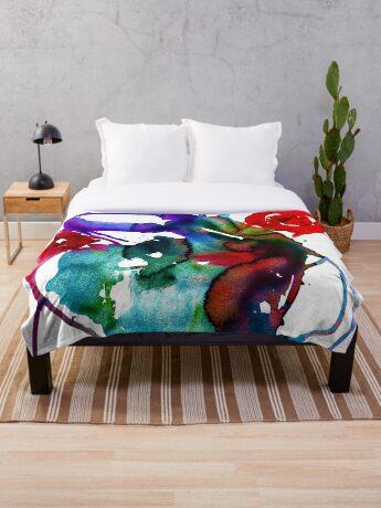 BAANTAL / Pollinate / Evolution Throw Blanket