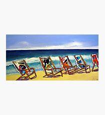 Relax ! Photographic Print