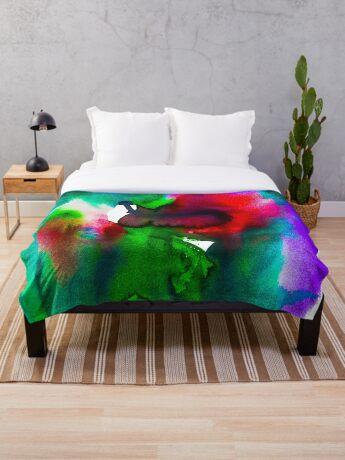 BAANTAL / Pollinate / Evolution #5 Throw Blanket