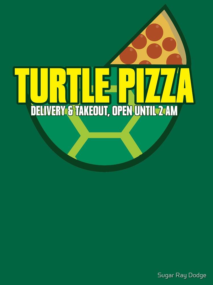 Turtle Pizza by utahgraphics