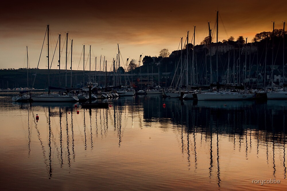 Kinsale Glows In The Winter Sunlight by rorycobbe