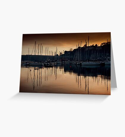 Kinsale Glows In The Winter Sunlight Greeting Card