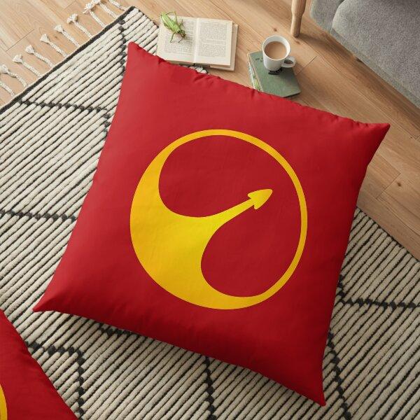 USS Callister Logo Floor Pillow