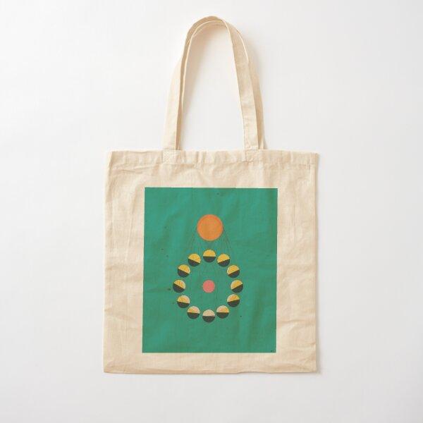 SUN+MOON+EARTH Cotton Tote Bag