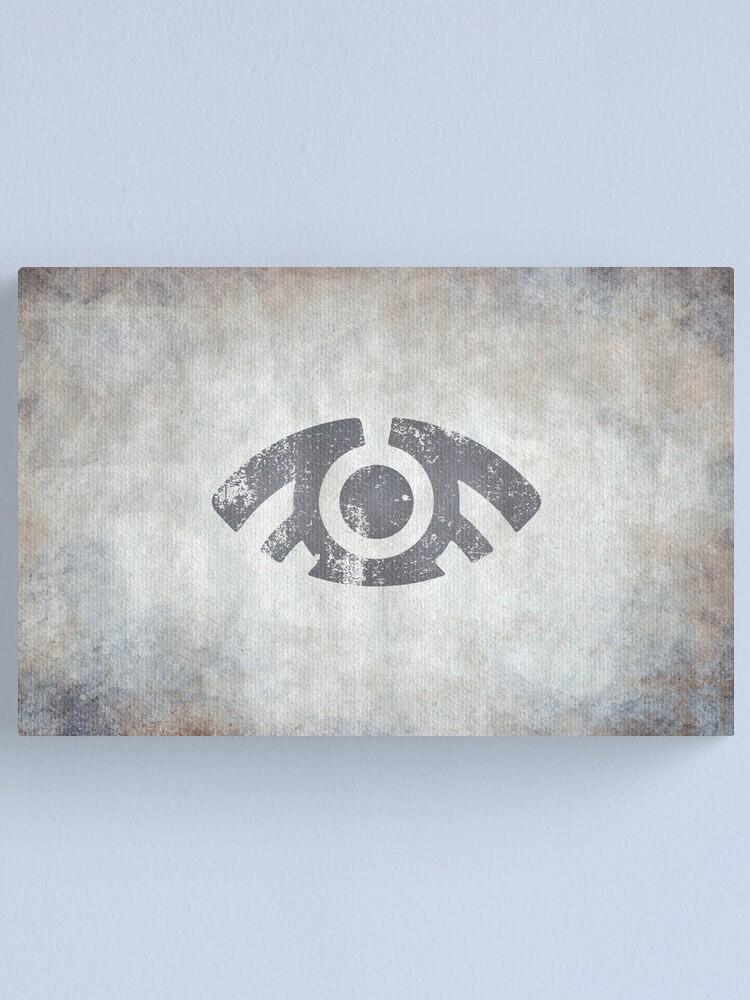 Alternate view of Arkangel Logo · Distressed Canvas Print