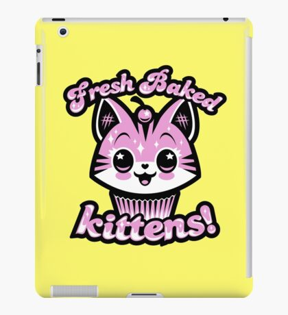 Fresh Baked Kittens  iPad Case/Skin