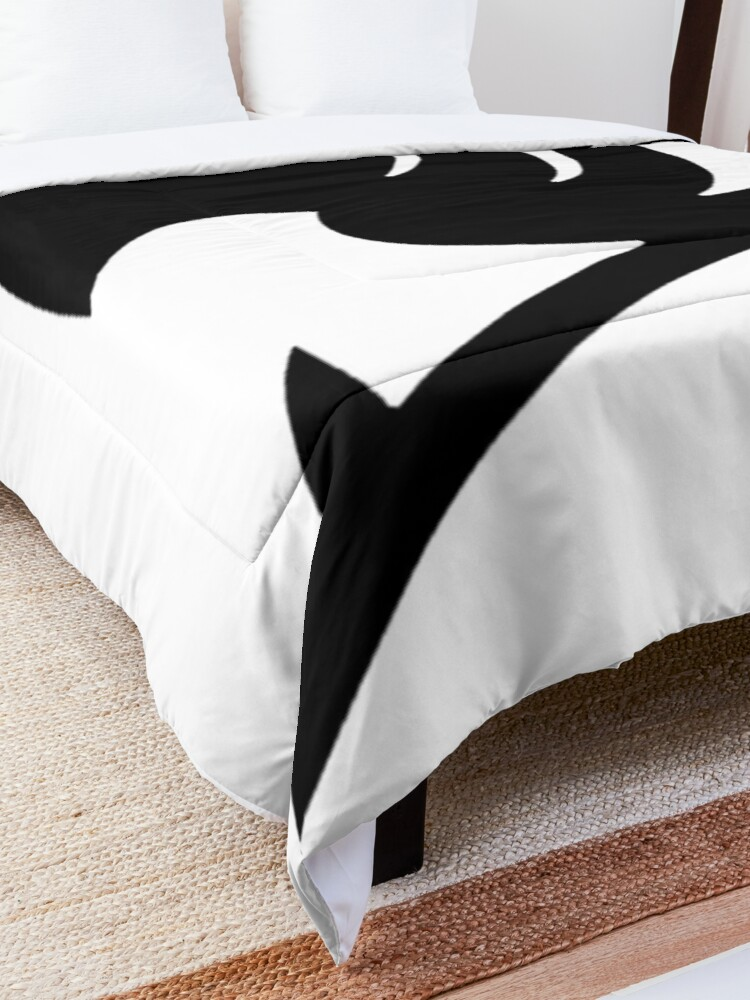 Alternate view of Fairy tail logo  Comforter