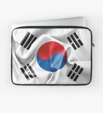 South Korea Flag Laptop Sleeve