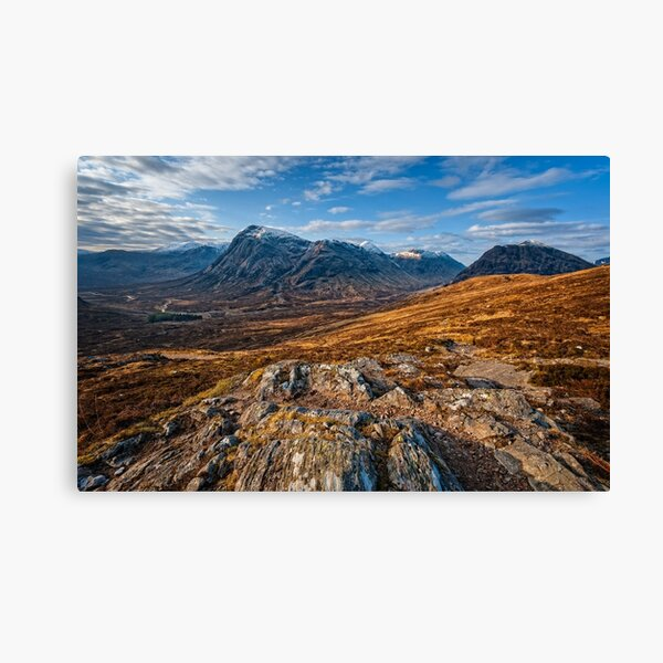 Buachaille Etive Mor from the Devil's Staircase Canvas Print