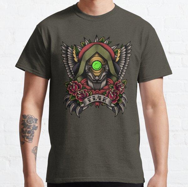 1920's Tattoo Style Fl4k Portrait Classic T-Shirt