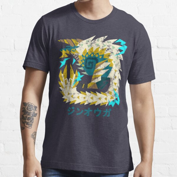 Monster Hunter World Iceborne Zinogre Kanji Icon Essential T-Shirt