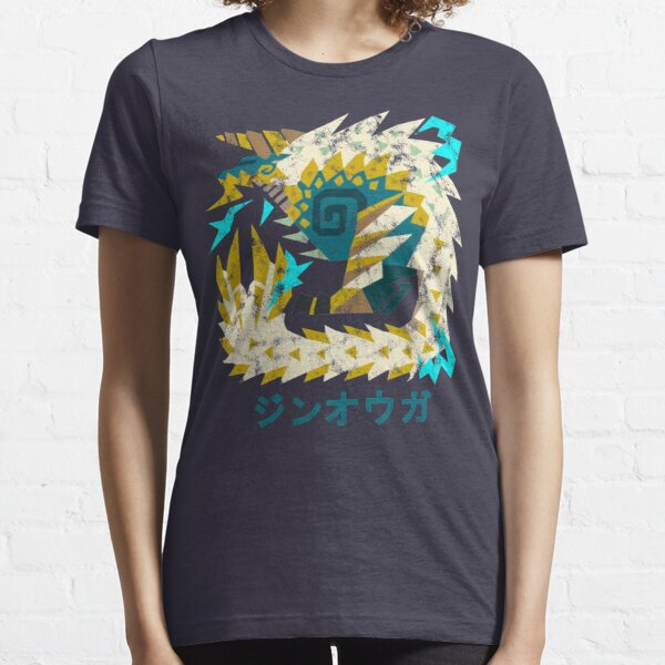 Monster Hunter World Iceborne Zinogre Kanji Icon Essential T-Shirt