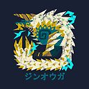 Monster Hunter World Iceborne Zinogre Kanji Icon Laptop Sleeve By Brotherofperl Redbubble