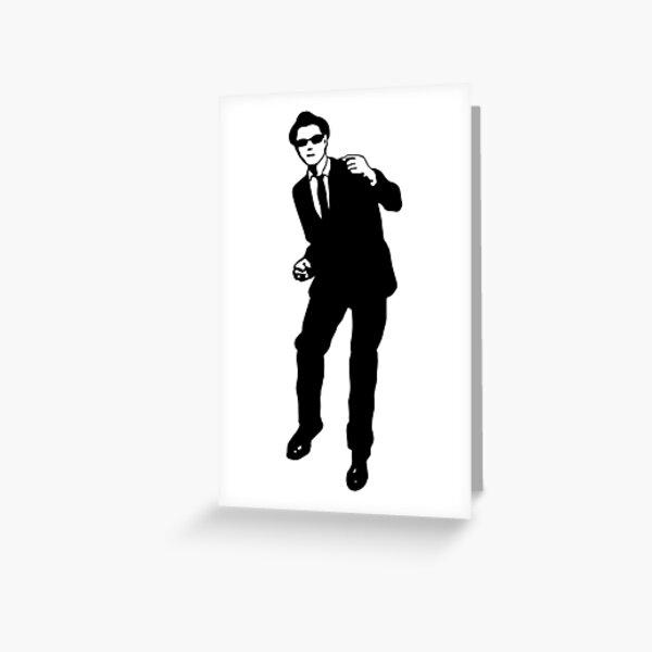 Ska dancer Greeting Card