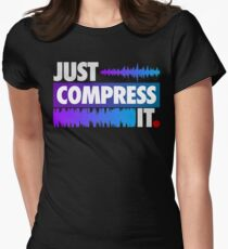 Just Compress It (Color Edition) Womens Fitted T-Shirt
