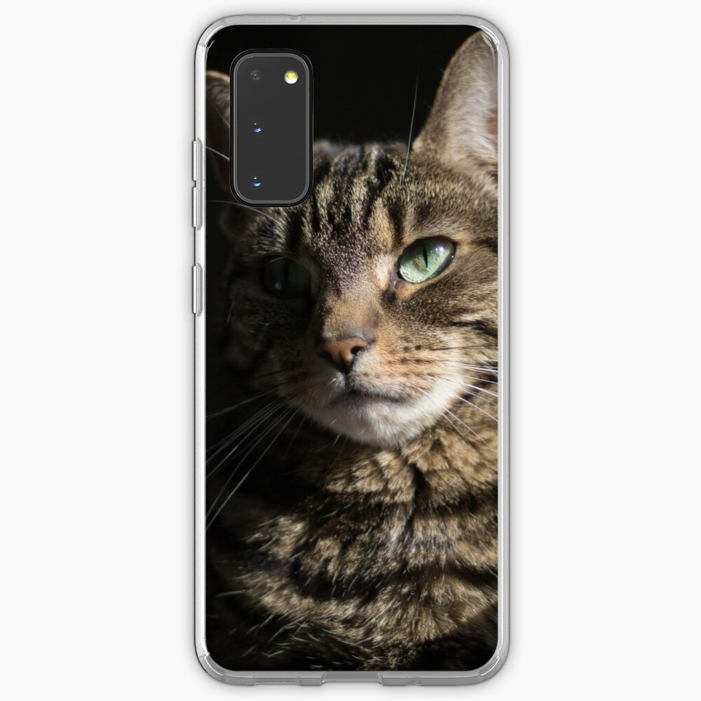 Tabby Cat Mysterious Beauty  Case & Skin for Samsung Galaxy