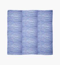 Handknit Block Fabric Scarf