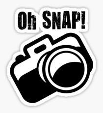 Oh Snap! Sticker