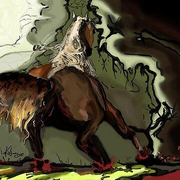 In the dark runs the wild by KSArt