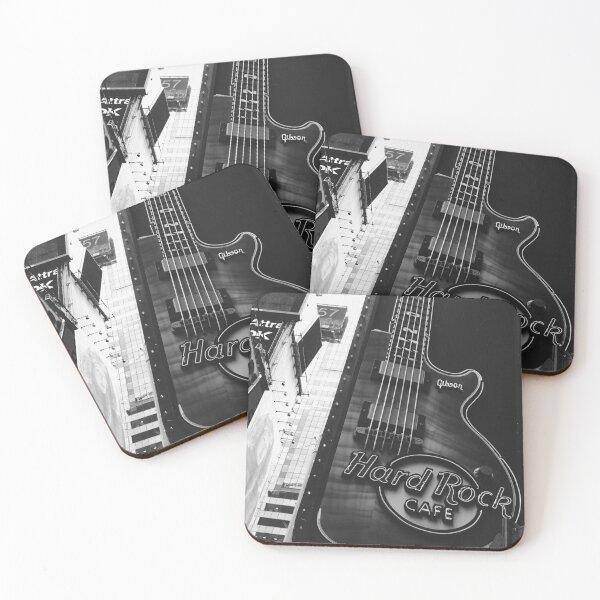 Hard Rock Cafe Coasters (Set of 4)