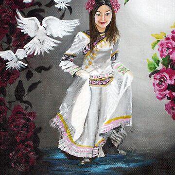 Red Garden Princess by KSArt