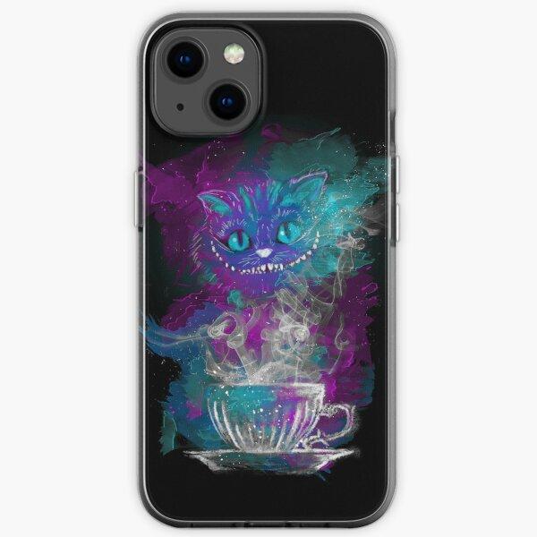 Cheshire's Tea iPhone Soft Case