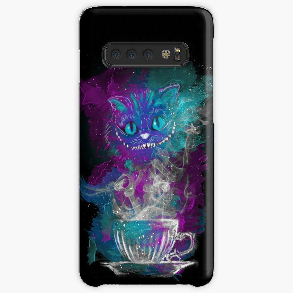 Cheshires Tee Hülle & Klebefolie für Samsung Galaxy