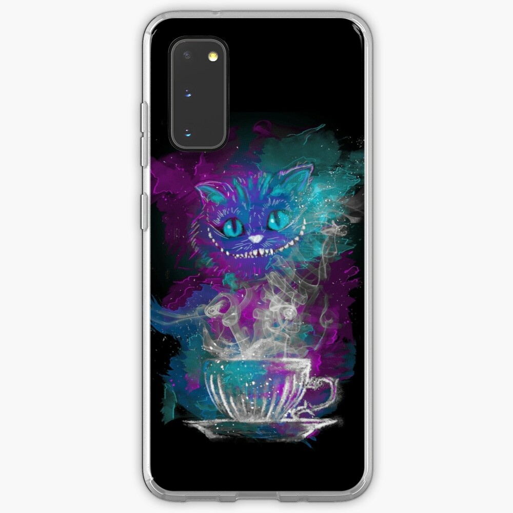 Cheshire's Tea Case & Skin for Samsung Galaxy