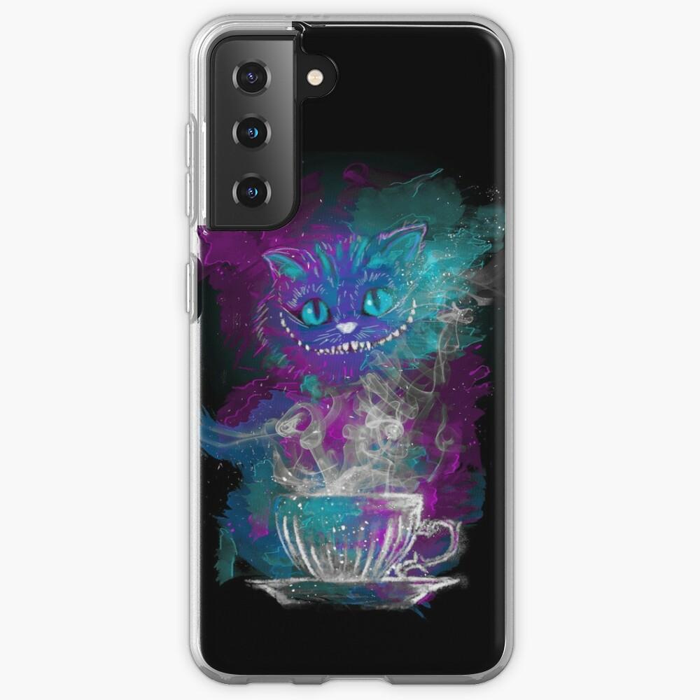 Cheshire's Tea Case & Skin for Samsung Galaxy